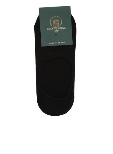 George Hogg 7004910 2li Erkek Bambu Çorap Seti Siyah